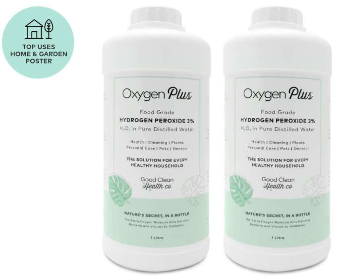 Hydrogen Peroxide 2 Pack Deal