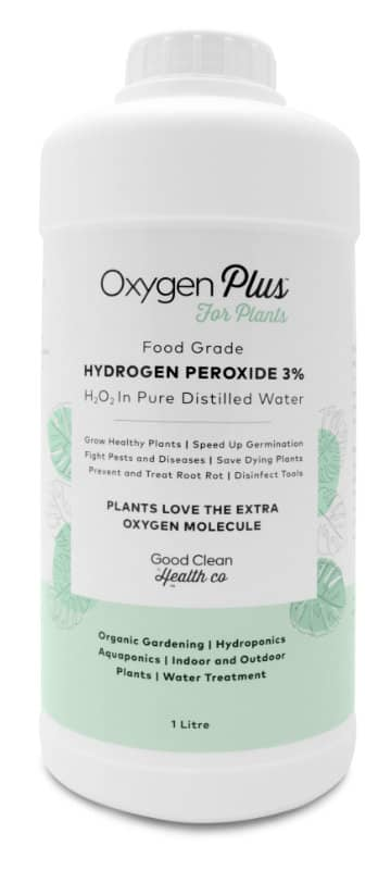 Hydrogen Peroxide 3% For Plants 1L Oxygen Plus