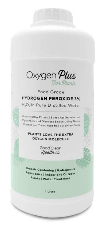Hydrogen Peroxide 3% For Plants 1L Oxygen Plus