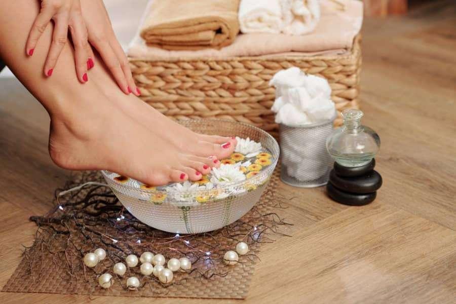 athlets foot fungus foot bath