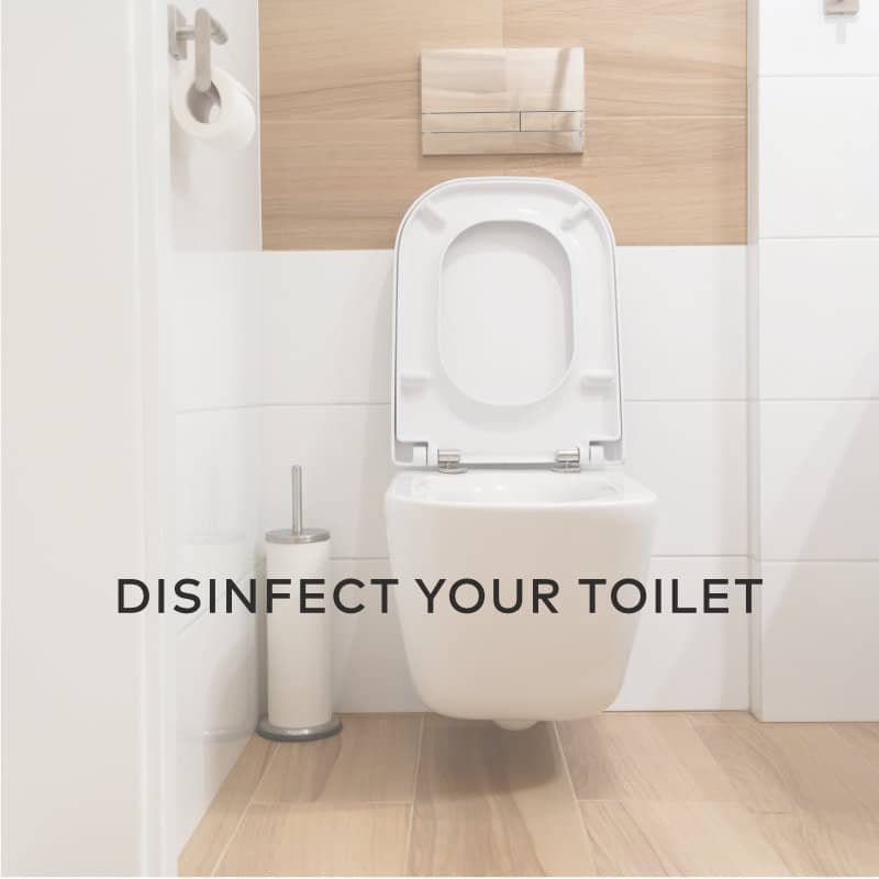 Disinfect Your Toilet