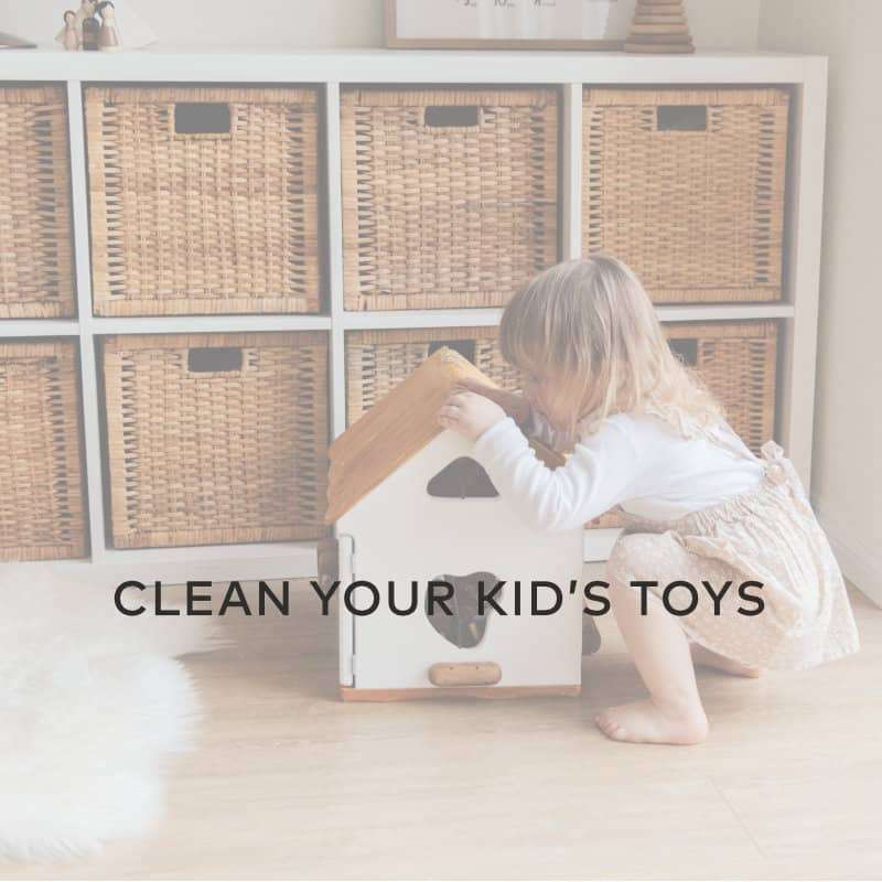 hydroghen peroxide clean kids toys