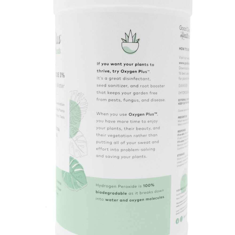 Hyrdrogen Peroxide 3% Plants - Oxygen Plus