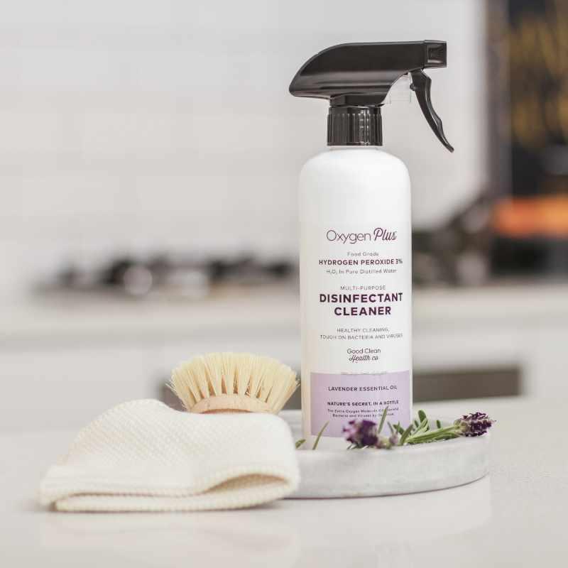 Multi Purpose Cleaner Disinfectant Hydrogen Peroxide Spray Lavender