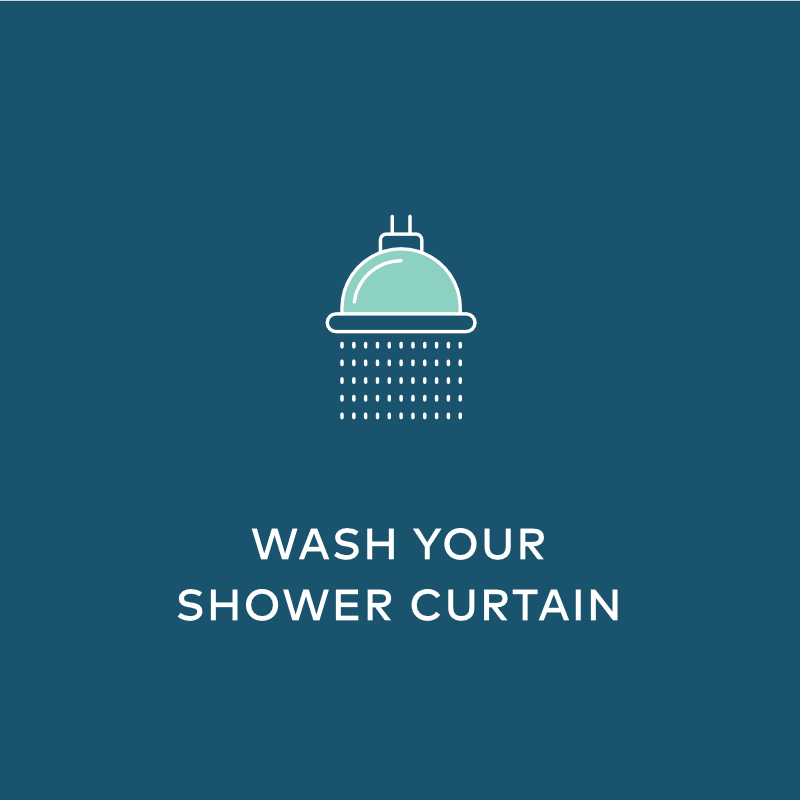 Wash Your Shower Curtain